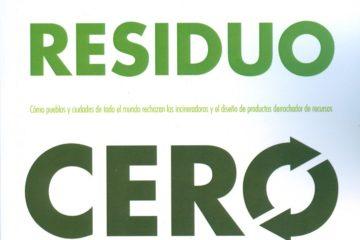 Cubierta del libro «Solución residuo cero», de Paul Connett.